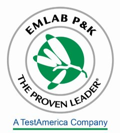 EMLab P&K Indoor Air Quality laboratory for Asbestos, Mold, Bacteria, Legionella, PCR, USP 797 testing and analysis