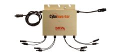 CyboInverter is a solar power Mini-Inverter possessing the key merits of both central inverters and microinverters.