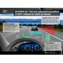 New TI DLP� chipset for automotive head-up display enables widest field of view in the industry