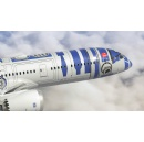 A Star Wars Plane from Japan! ANA Unveils Star Wars R2-D2 Livery for 787-9 Dreamliner Aircraft