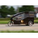 UPS Tests Electric Cargo Bike in Basel