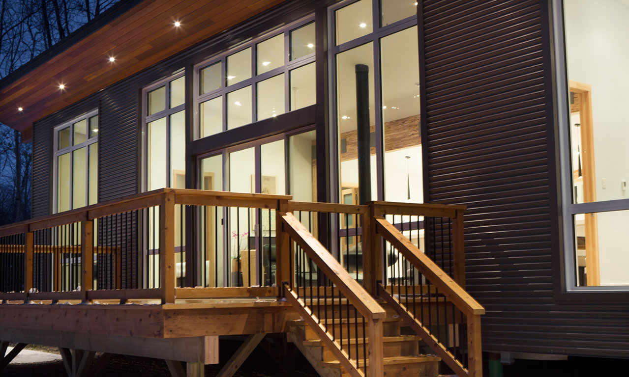 Home Builder Features Innovative New Design For Contemporary Energy Efficien