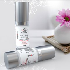 Aria Tri-Peptide Collagen Serum and Peptide Complex Regenerating Cream