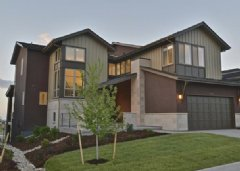 The two-story Residence Two at NorthSky at RidgeGate in Lone Tree, Colorado