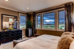The Umbria model�s serene master suite looks out on rolling hills and big, Colorado sky.