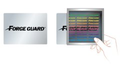 Utilizing innovative Fujifilm technology, FORGE GUARD security labels are hidden full-color images revealed with a proprietary viewer.