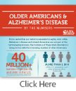 Older Americans and Alzheimer�s Disease by the numbers