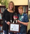 Newtown, Connecticut Therapy Dog Wins First Nationwide Books & Barks Contest
