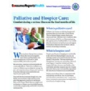 Consumer Reports Health Launches New Online Caregiver Resource