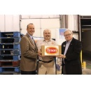 Second Harvest Food Bank Receives Donation of Truckload of Chicken from Tyson Foods and Champions for Kids