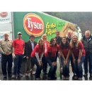 Tyson Foods Donates Truckload of Chicken to Food Bank