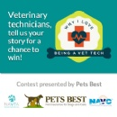 Pets Best and NAVTA Host Contest to recognize Exceptional Veterinary Technicians