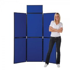 Folding display boards cost less when you go direct to a manufacturer like Panel Warehouse.