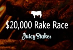 Rake race prize pool increased to $20,000