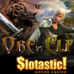 New Hobbit-inspired Orc vs Elf slot game at Slotastic! Casino