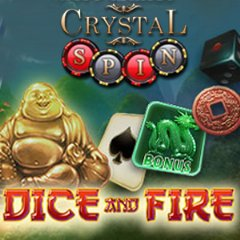 Dice and Fire is an Asian-themed video slot with Jade Dragons and Golden Buddhas and a special double-or-nothing bonus feature to multiply wins.