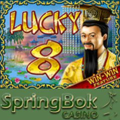 Bonuses available to try new Lucky 8 Asian slot game for Chinese New Year.