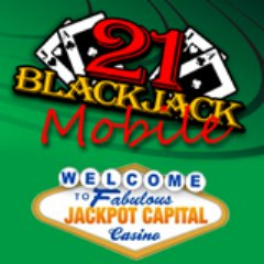 Jackpot Capital Mobile Casino now has Blackjack in addition to slots.