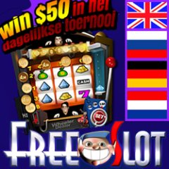 Free slot game tournaments with cash prizes now in English, Dutch and Russian.