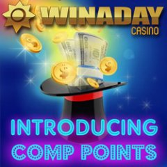 Frequent players love WinADay Casino�s new Comp Points
