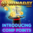 Slots Players Raving About New Comp Points at WinADay Casino
