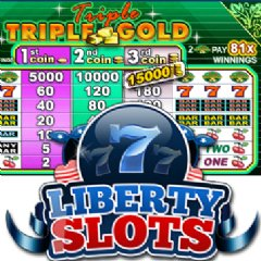 One lucky Liberty Slots Casino winner is grateful to one of her favorite slot games, Triple Triple Gold.