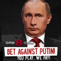 PutinBET.com will raise funds for Ukraine.
