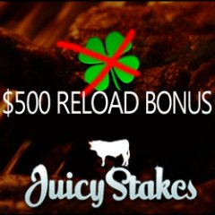 Deposits up to $500 will be doubled until Monday at Juicy Stakes Poker.