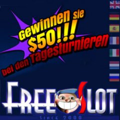 Free slot games now in German, Italian, French and Spanish.