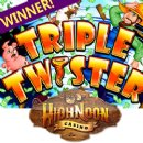 High Noon Casino Player Wins Nearly Half Million Dollars  During �Triple Twister� Free Game Features