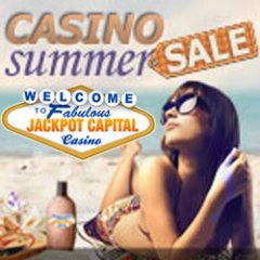 Jackpot Capital $130,000 Casino Bonus Summer Sale