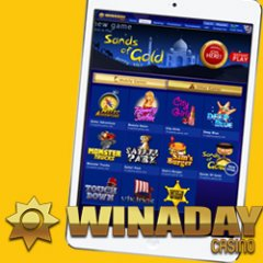 WinADay Casino launches 11 real money mobile slot games