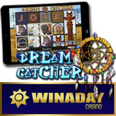 New Dream Catcher slot game in real money online casino and mobile casino