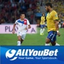 AllYouBet Bookmaker Backs Brazil to Knock Chile Out of World Cup  -- $100 Bonus and $100 Free Bet Available