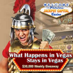 What Happens in Vegas contest will award $162,500 in casino bonuses to online casino and mobile casino players.