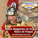 Jackpot Capital�s �What Happens in Vegas� $162,500 Casino Bonus Giveaway Continues -- Mobile Casino Gives Double Points