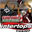 Intertops Casino Kicks Off American Football Season with $150,000 in Casino Bonuses
