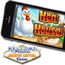 Toe-tappin� �Henhouse� Slot Game Now in Jackpot Capital�s Mobile Casino for Smartphone and Tablet Users -- Bonus and Free Spins Now Available