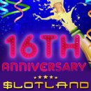Slotland Lowers Bets on Select Slots to Begin 16th Birthday Celebrations -- Free Chip and Bonuses This Weekend