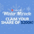 PokerVIP Setting New Records with Winter Miracle Rake Race
