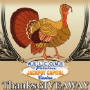 Jackpot Capital�s �Thanksgiveaway� to Award Bonuses, Cash Prizes and Free Spins
