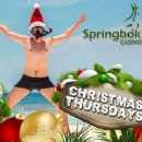 Bonuses, Free Spins and Double Comp Points during Springbok Casino�s Christmas Thursdays
