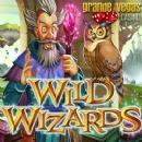 Magical New �Wild Wizards� Slot at Grande Vegas Casino has Five Spellbinding Bonus Games