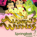 Springbok Giving South African Players up to R2500 to Play �Aladdin�s Wishes� Slot Online or in Mobile Casino