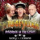 Lucky Club Casino Introduces New �Three Stooges Disorder in the Court� from Nuworks Games with up to $222 Bonus