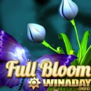 WinADay Casino giving $18 Freebie to Celebrate New �Full Bloom� Slot Game