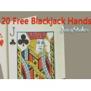 Juicy Stakes Giving 20 Free Blackjack Hands with Low 5X Wagering Requirement to Introduce Improved Software