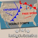 Lucky Club Casino Forecasts Bonus Thunderstorms thru May