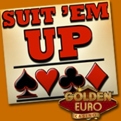 European Players Earn Double Comp Points on RTG�s New Suit �Em Up Blackjack at Golden Euro Casino