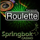 South Africa�s Springbok Casino Adds New European Roulette to Online Casino and Mobile Casino